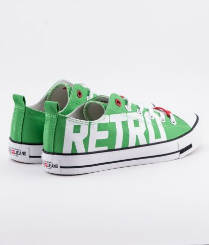 CLAXTON PRINT 19 SNEAKERS, GREEN