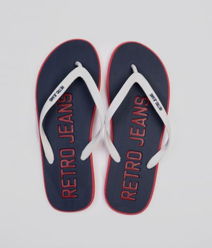 SURFBOARD COLOR 19 FLIP FLOP, NAVY