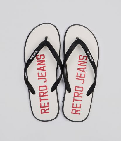 SURFBOARD COLOR 19 FLIP FLOP, OFF WHITE