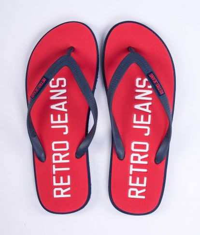 SURFBOARD COLOR 19 FLIP FLOP, RED
