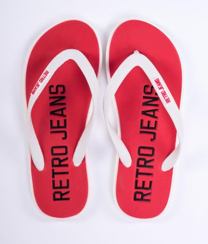 SEABOARD COLOR 19 FLIP-FLOP, RED