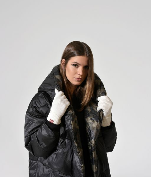 JOELLE GLOVES, OFF WHITE