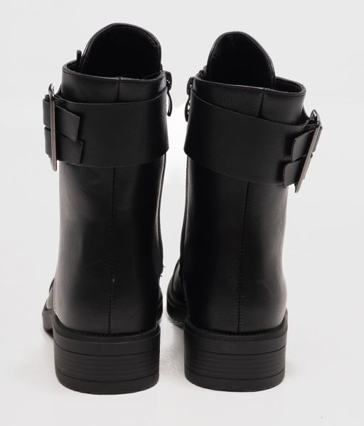 AMBER BOOTS, BLACK