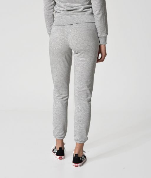 EMELIA P JOGGING BOTTOM, LIGHT GREY MELANGE