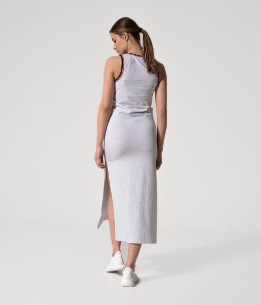 ERICA DRESS, LIGHT GREY MELANGE