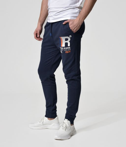 PREM PANTS JOGGING BOTTOM, DARK BLUE