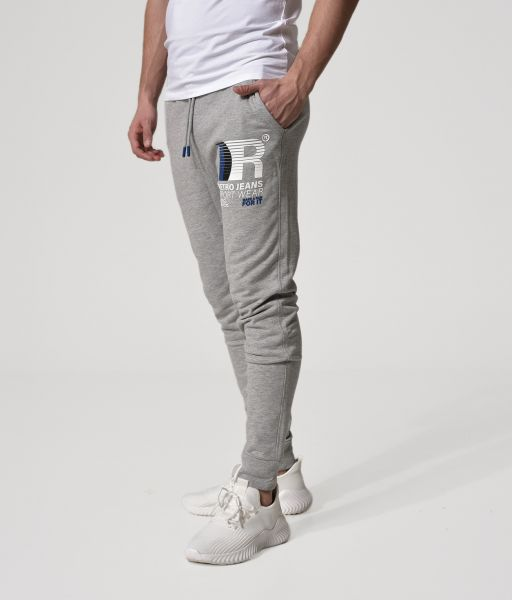 PREM PANTS JOGGING BOTTOM, GREY MELANGE