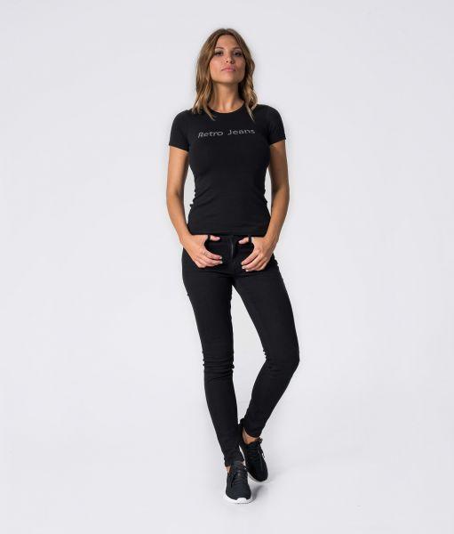 CLARA T-SHIRT, BLACK