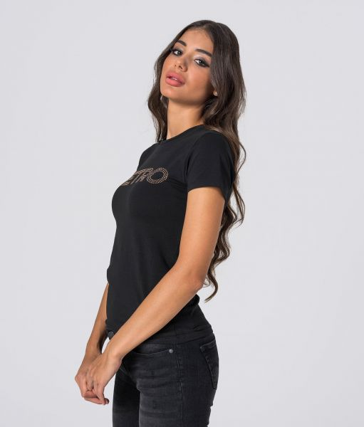 MARIELLA20 T-SHIRT, BLACK