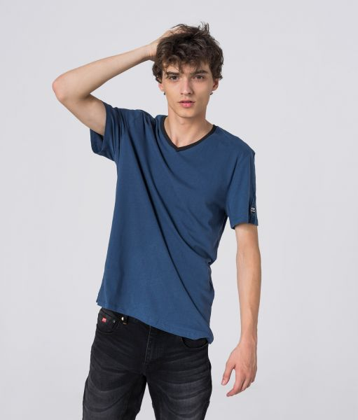 COSTA V T-SHIRT, DARK BLUE