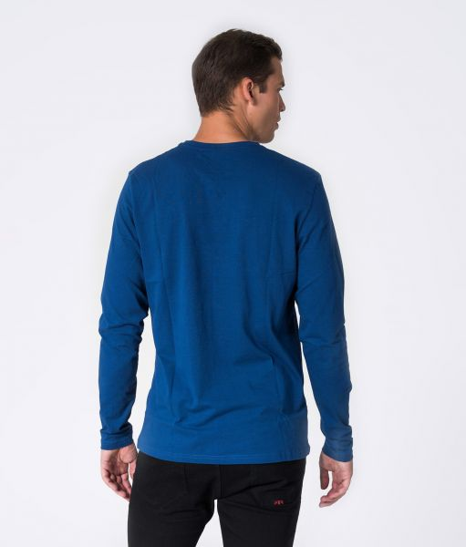 SANDER LONG L.S.TOP, BLUE