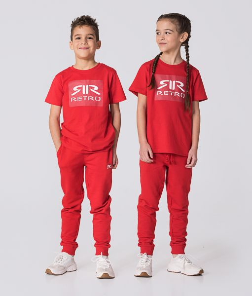 KID JOGGERS, RED