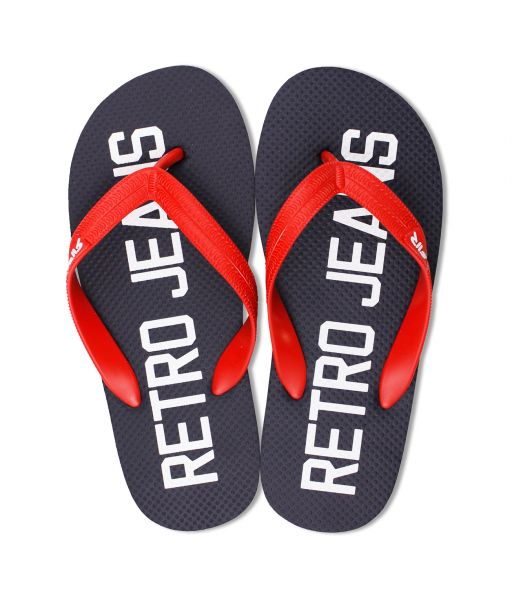 SURFBOARD COLOR FLIP FLOP, NAVY