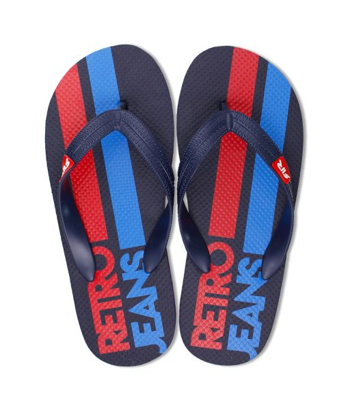 SURFBOARD DESIGN FLIP FLOP, NAVY