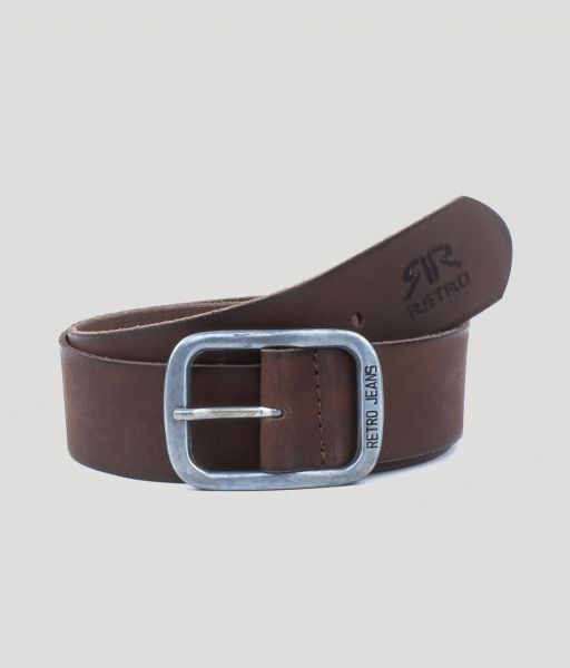 BIRDE BELT, DARK BROWN